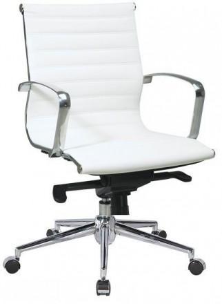 Офисное кресло Алабама Среднее (Alabama Medium) для руководителей офиса. Киев. фото 1