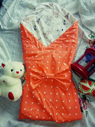 Продам плед-конверт для новорожденных. Бердичев. фото 1