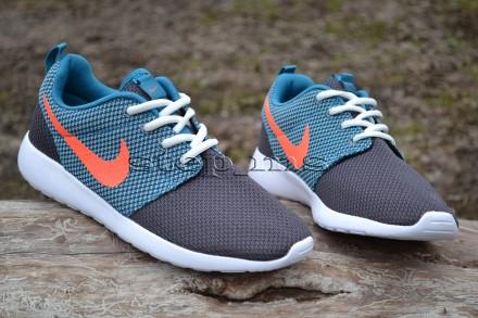 Мужские кроссовки Nike Roshe рр.41,42,43,44,45,46. Кременная. фото 1