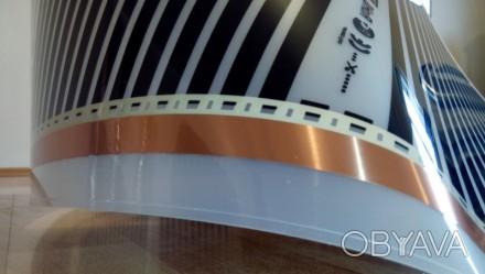 ПЛЕНОЧНЫЙ ТЕПЛЫЙ ПОЛ Hot Film HF 305 с серебряной сеткой  Ширина 50 см. (80 -10. Кременчуг, Полтавская область. фото 1