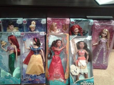 Куклы Disney Рапуцель, Жасмин, Мерида, Моана, Чарминг. Житомир. фото 1