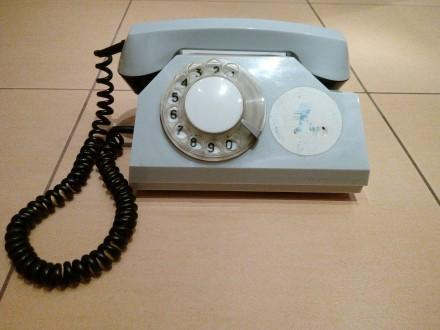 Телефонний стаціонарний апарат ТА-72 (в-во СРСР).. Червоноград. фото 1