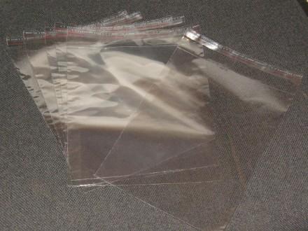 Пакеты полипропиленовые с клейкой лентой. Киев. фото 1