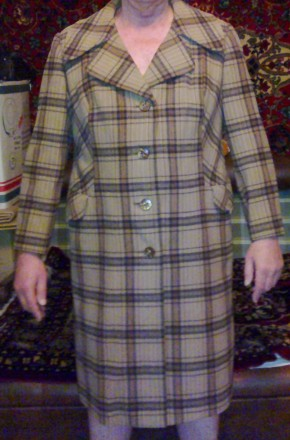 Пальто женское демисезонное на полную  р.50-54.. Одесса. фото 1