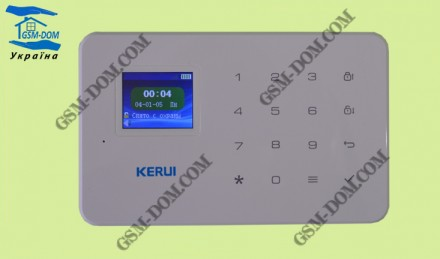 GSM-сигнализация Kerui G-18 (комплектация+) ОРИГИНАЛ 100%. Кропивницкий. фото 1