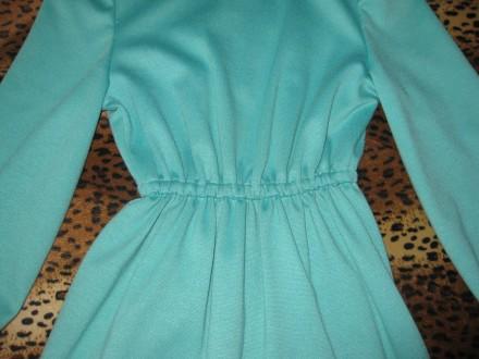 Продам нарядное платье на девочку 7-9 лет. Материал француз. трикотаж. Талия соб. Киев, Киевская область. фото 5