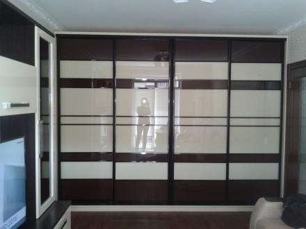 Производим корпусную мебель в т.ч. и шкафы купе от 6000 грн и зависит от размера. Житомир, Житомирская область. фото 8