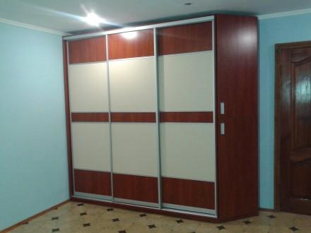 Производим корпусную мебель в т.ч. и шкафы купе от 6000 грн и зависит от размера. Житомир, Житомирская область. фото 6