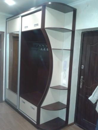 Производим корпусную мебель в т.ч. и шкафы купе от 6000 грн и зависит от размера. Житомир, Житомирская область. фото 3