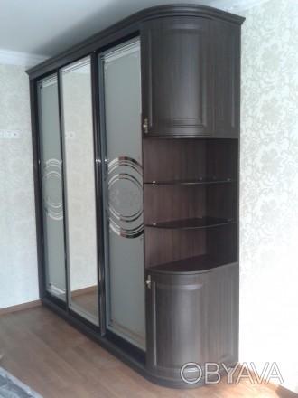 Производим корпусную мебель в т.ч. и шкафы купе от 6000 грн и зависит от размера. Житомир, Житомирская область. фото 1