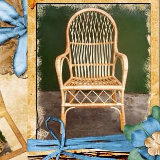 Кресло  плетеное из лозы с Доставкой  в любой уголок Украины .. Николаев. фото 1