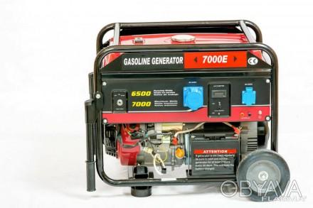 Генератор бензиновый Weima WM7000E (7 кВт, 1 фаза...