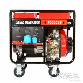 Генератор дизельный Weima WM7000CLE (7 кВт, 1 фаза...