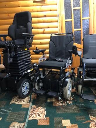 Инвалидные коляски с электроприводом из Германии б/у в идеальном состоянии.Коляс. Харьков, Харьковская область. фото 7