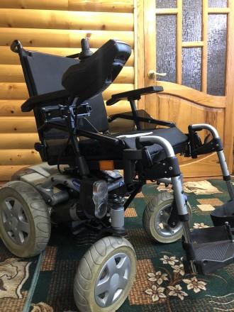 Инвалидные коляски с электроприводом из Германии б/у в идеальном состоянии.Коляс. Харьков, Харьковская область. фото 2