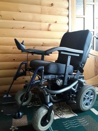 Инвалидные коляски с электроприводом из Германии б/у в идеальном состоянии.Коляс. Харьков, Харьковская область. фото 8