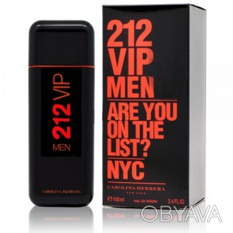 CAROLINA HERRERA 212 VIP Men Are You on the List Black 100 мл Туалетная вода