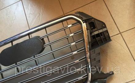 Решетка радиатора тюнинговая на Audi Q3 (2011-...) года выпуска. Решетка Audi Q3. Киев, Киевская область. фото 6