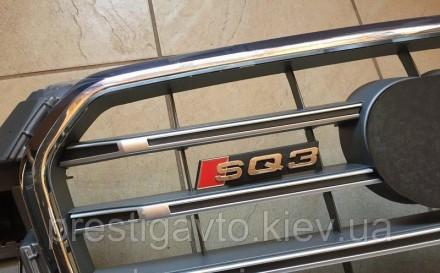 Решетка радиатора тюнинговая на Audi Q3 (2011-...) года выпуска. Решетка Audi Q3. Киев, Киевская область. фото 4