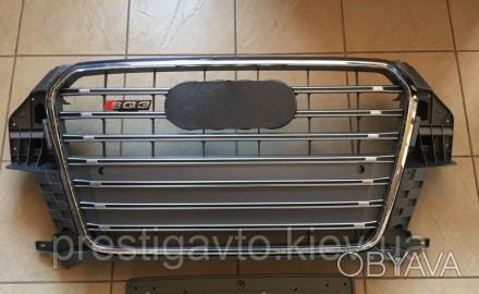 Решетка радиатора тюнинговая на Audi Q3 (2011-...) года выпуска. Решетка Audi Q3. Киев, Киевская область. фото 1