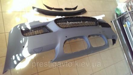 Бампер передний на BMW F10 стиль M5 (2011-2014)  Комплект переднего бампера: пе. Киев, Киевская область. фото 3