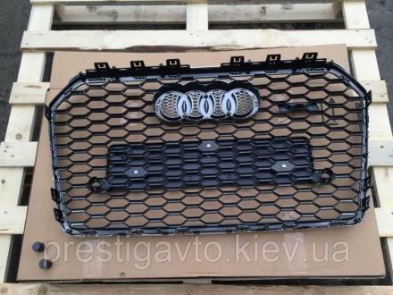 Решетка радиатора на Audi A6 с 2014 годов выпуска в стиле Audi RS6 Решетка радиа. Киев, Киевская область. фото 6