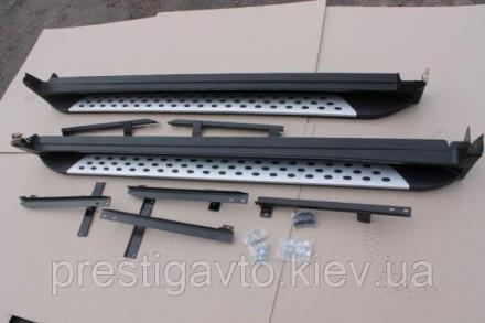 Пороги боковые на Nissan X-Trail T32 (2014-...) Комплект: 2 шт. (цена указана за. Киев, Киевская область. фото 9