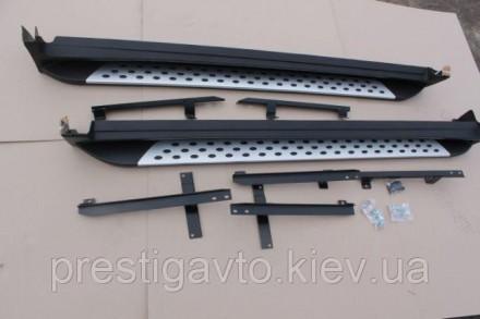 Пороги боковые на Nissan X-Trail T32 (2014-...) Комплект: 2 шт. (цена указана за. Киев, Киевская область. фото 8