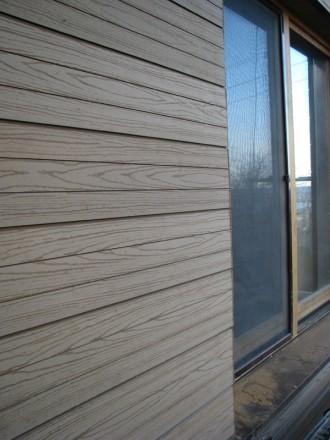 Сайдинг из  ДПК древесно-полимерный композит Тардекс, Хольцдорф (Украина). Киев. фото 1