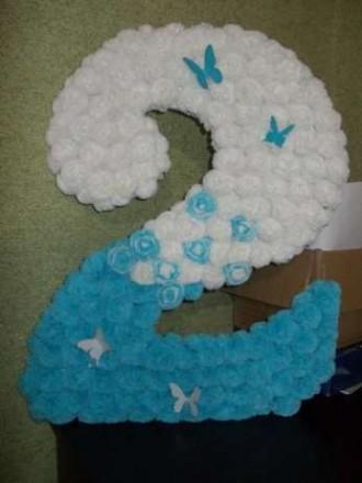 Цифры и буквы для праздника. Балаклея. фото 1