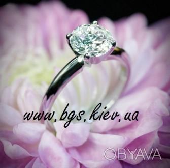 Помолвочное кольцо. Золотое кольцо с бриллиантами