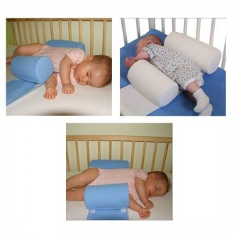 Ортопедическая подушка ограничитель-позиционер для детской кроватки ( махровый). Киев. фото 1