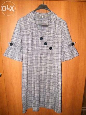 Платье серого цвета. Новоукраинка. фото 1