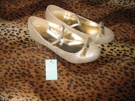 Туфли для настоящих принцесс MONSOON ITALY (новые с доставкой) 32 размер. Киев. фото 1