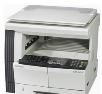 Продам японский лазерный копир KM-1620 (A3). Мелитополь. фото 1