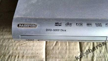 Raiford DVD 3202 + видеообзор состояния плеєра    комплектация на фото. Драбов, Черкасская область. фото 1