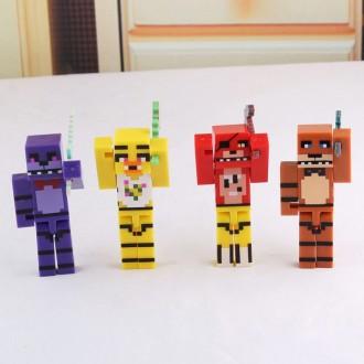Лего фигурки Майнкрафт 5 ночей. Днепр. фото 1