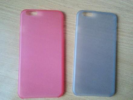 Чехол для iPhone 6 plus 5.5 дюймов, тонкий пластик. Знаменка. фото 1