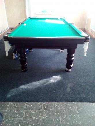 Бильярдный стол, шары. Кропивницкий. фото 1