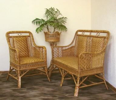 Плетеная мебель из ротанга,лозы,абаки от производителя.. Киев. фото 1