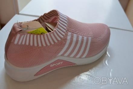 Продам новые летние кроссовки слипоны размер 36, 37, 38, 39.40, 41.Розовые
