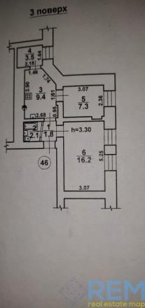 Купите ! квартиру  с капитальным ремонтом на Сеченова  2 -х комнатная кв. 2/3  4. Приморский, Одесса, Одесская область. фото 5