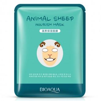 Маска для лица Bioaqua Animal эффективно увлажняет кожу, дарит комфортные ощущен. Одесса, Одесская область. фото 3