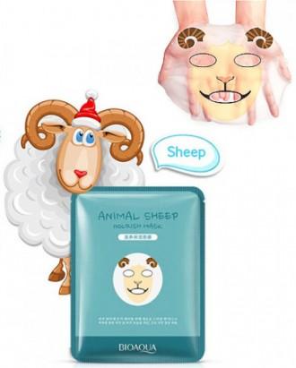 Маска для лица Bioaqua Animal эффективно увлажняет кожу, дарит комфортные ощущен. Одесса, Одесская область. фото 2