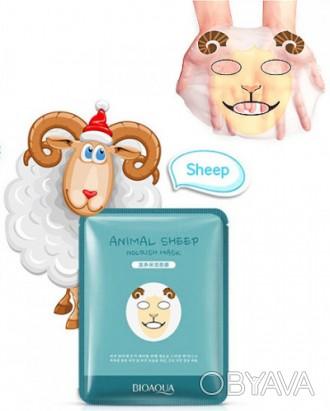Маска для лица Bioaqua Animal эффективно увлажняет кожу, дарит комфортные ощущен. Одесса, Одесская область. фото 1