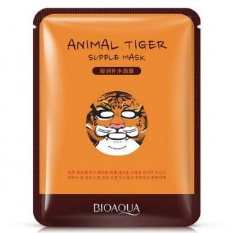 Маска для лица Animal Tiger Mask была разработана косметологами и биохимиками из. Одесса, Одесская область. фото 3