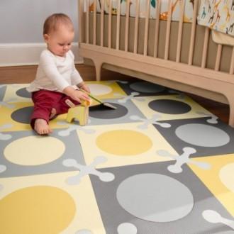 Мягкий развивающий коврик пазл Skip Hop Playspot. Днепр. фото 1