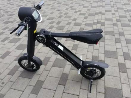 Новейший электрический двухколесный скутер TRIAD К1 класса hi-tech.  Корпус из . Киев, Киевская область. фото 9