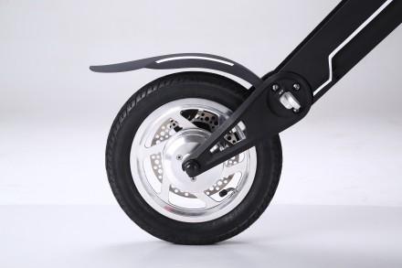 Новейший электрический двухколесный скутер TRIAD К1 класса hi-tech.  Корпус из . Киев, Киевская область. фото 6