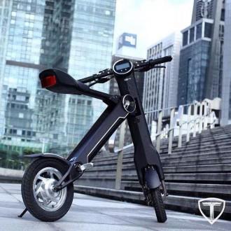 Новейший электрический двухколесный скутер TRIAD К1 класса hi-tech.  Корпус из . Киев, Киевская область. фото 2